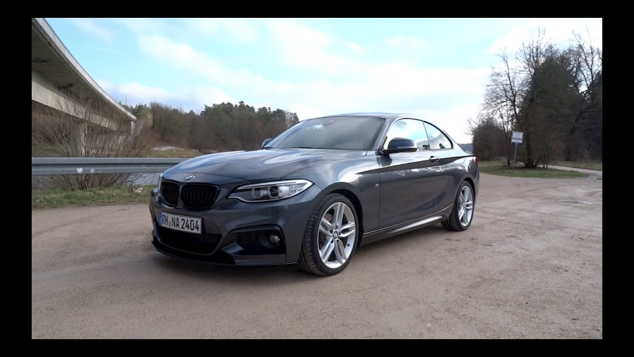 BMW I Coupe M Sport StartUp And Full Vehicle Tour YouTube - Bmw 220i