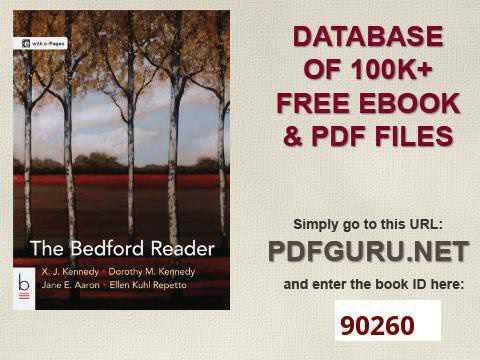 The Bedford Reader Pdf