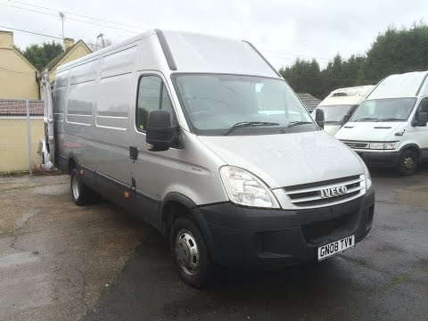 2008 IVECO DAILY 45c15 VAN REVIEW