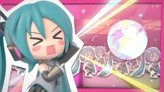 Repeat youtube video 初音ミク Project mirai 2 OP曲『アゲアゲアゲイン』フル ver.PV