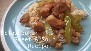 Slowcooker Sweet & Sour Pork