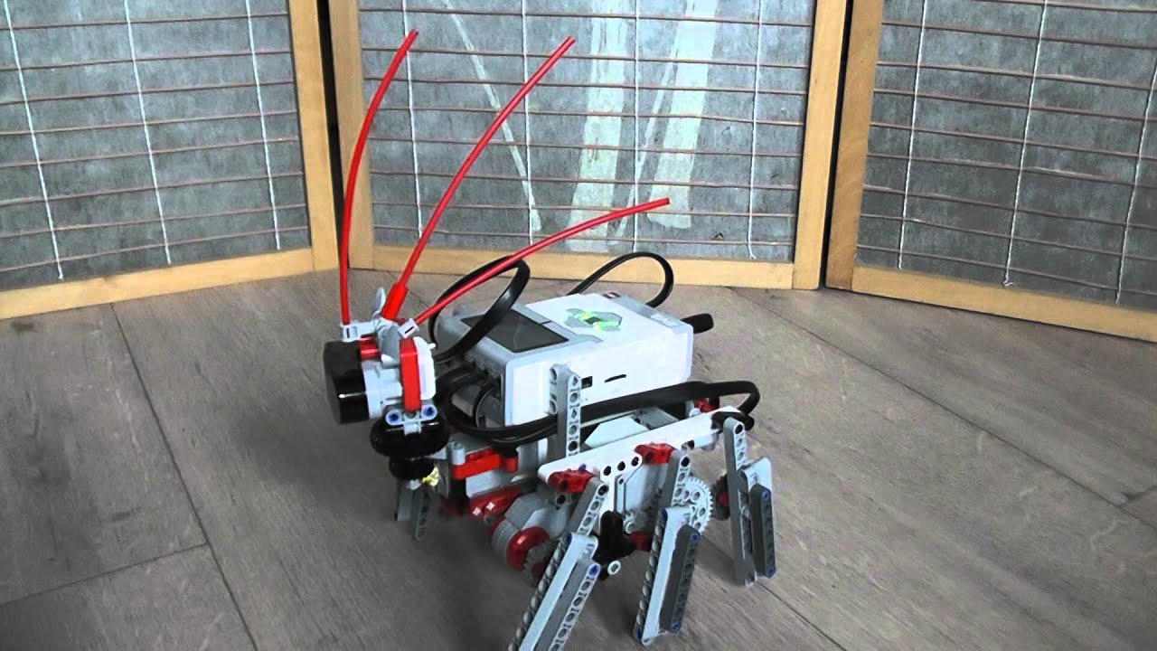 Lego Mindstorms EV3 hexapod walking robot - YouTube