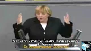 Merkel always knew mass migration and multiculturalism doesnt work