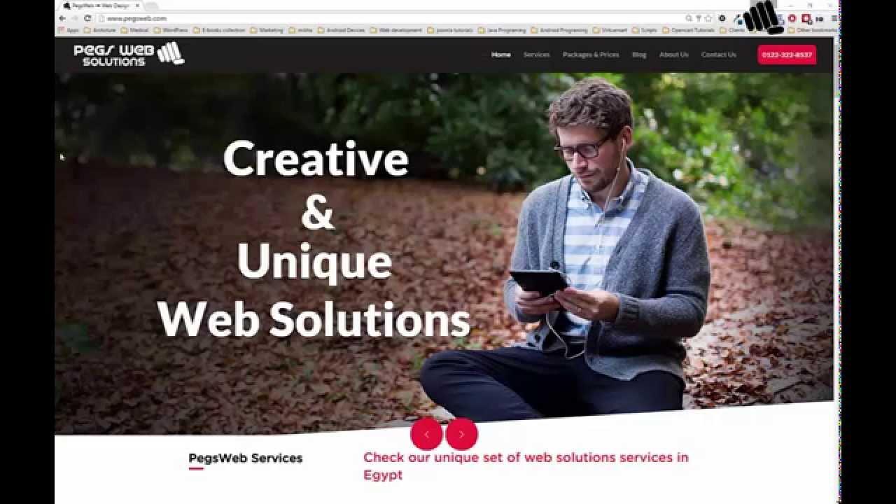 ux design, online marketing in Egypt   اساسيات تصميم المواقع