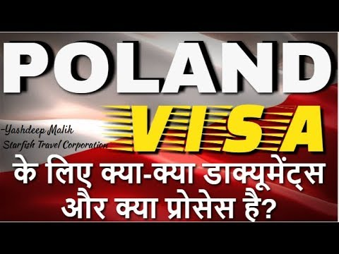 Visa Documents & Process For Poland (India Citizens)