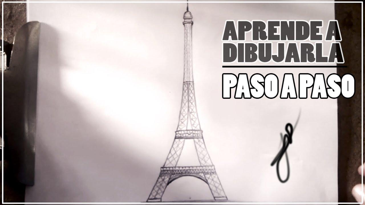 Como Dibujar La Torre Eiffel Paso A Paso Youtube