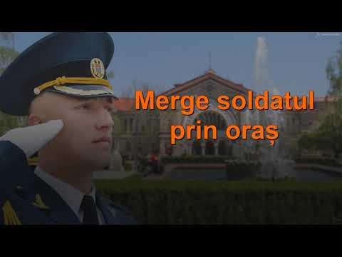 """Vitalicus: """"Merge soldatul prin oras"""". Voce pentru karaoke"""