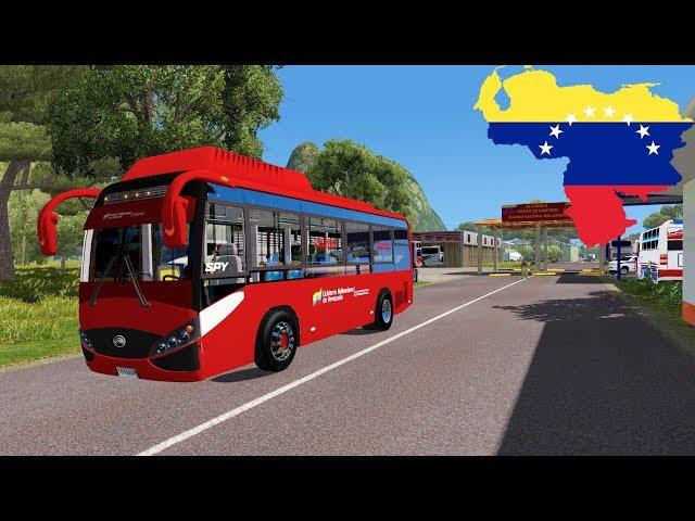 Bus Yutong Venezolano Todavía Tengo TRABAJO en Venezuela ets2