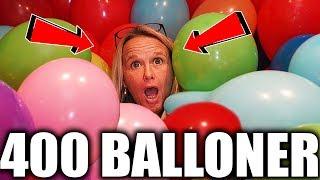 ULTIMATIV BALLON PRANK PÅ MORS VÆRELSE! | 400+ BALLONER!