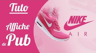 Tutoriel Photoshop - Affiche publicitaire (Nike)