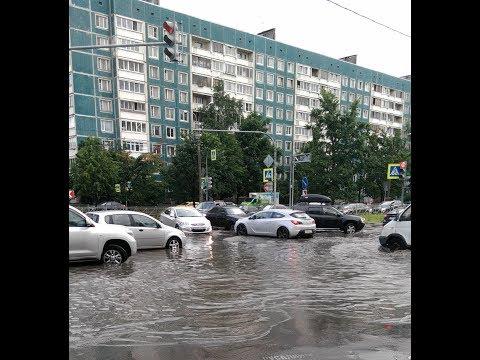 Проспект Королёва утонул | Приморский район