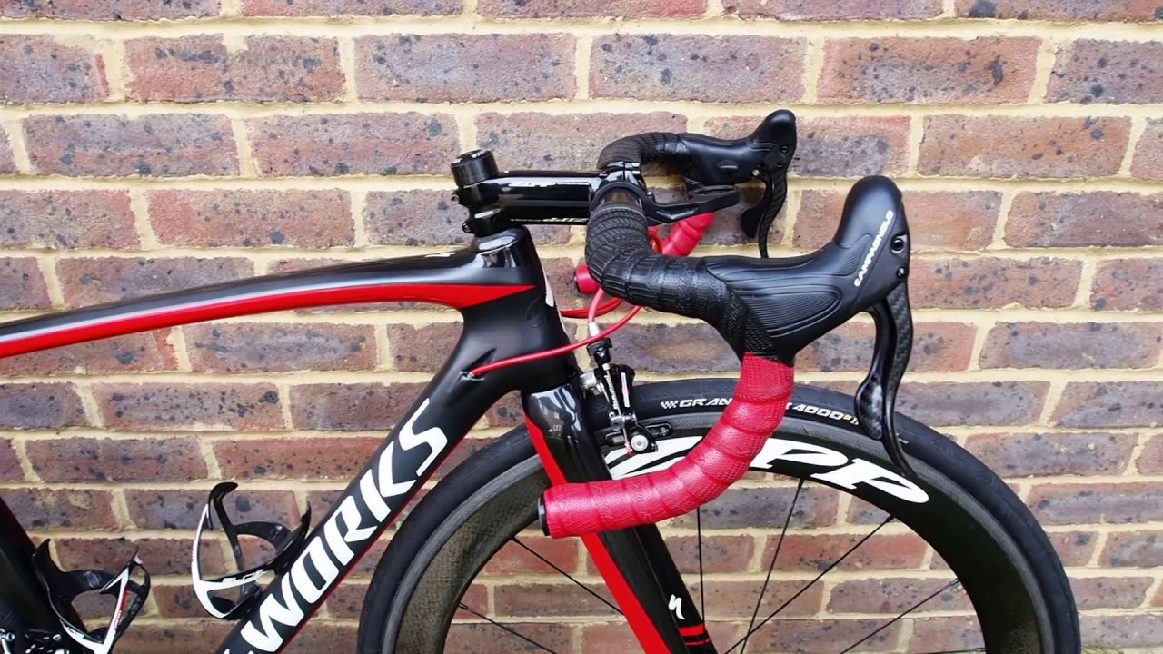 Specialized S Works Tarmac Campagnolo Super Record Youtube
