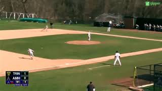 Trinity College Baseball vs Amherst 4 28 18