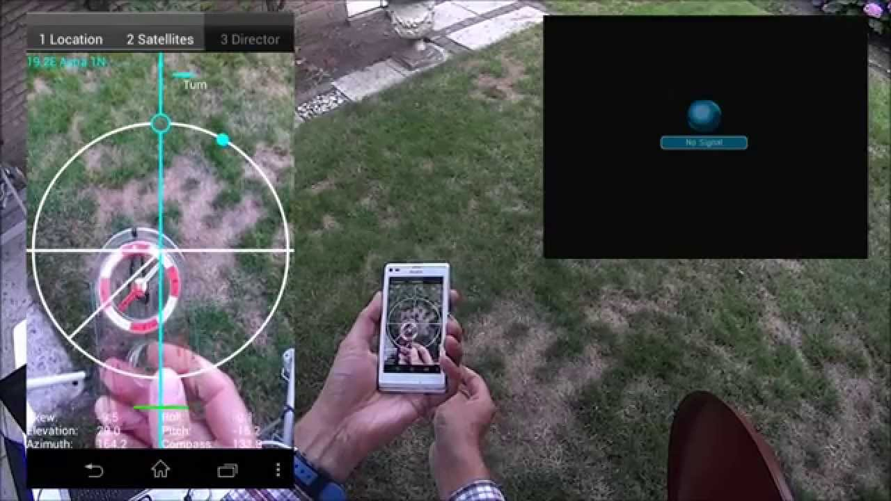 Satellite Director, find a satellite in 30 seconds  #Smartphone #Android