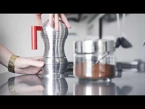 Alessi Pulcina espresso coffee maker