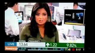 Best Ever News Break.Reporter With Huge Dildo!.No Joke!