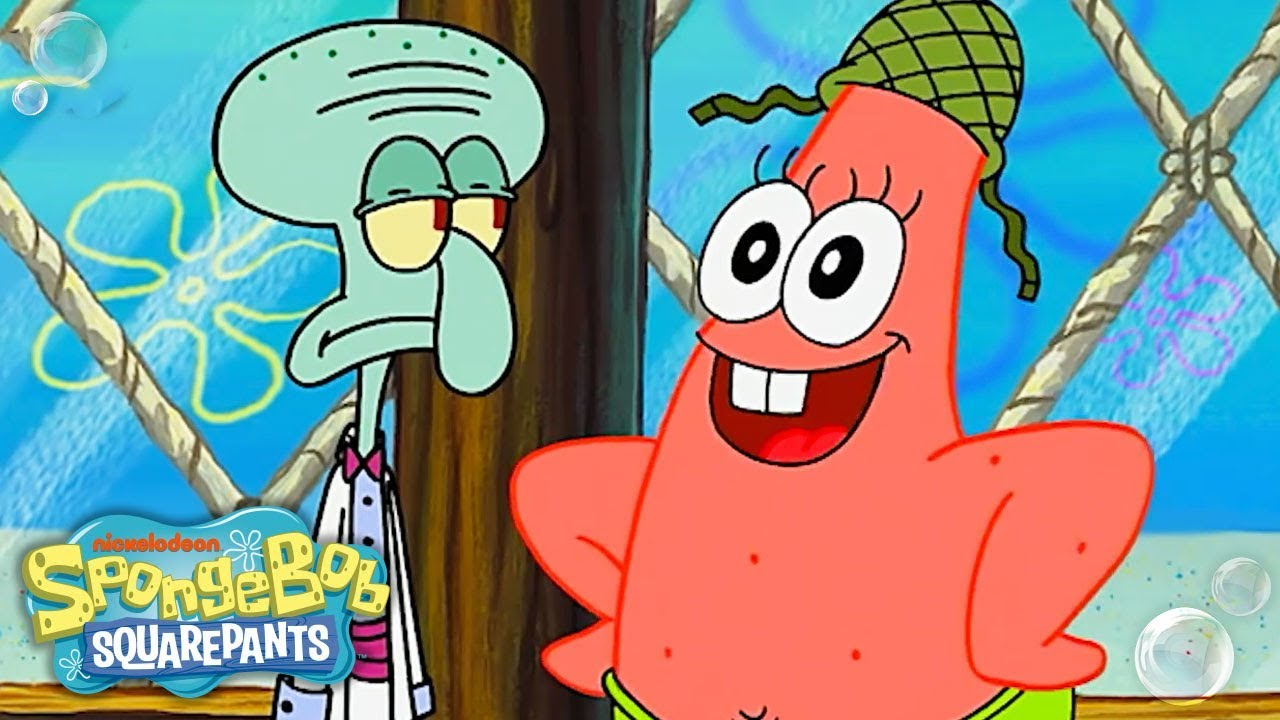 Patrick Star S Top 25 Most Lol Moments Spongebob Youtube