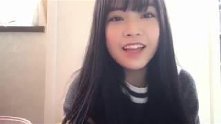 프로듀스48에 출연했던 모토무라 아오이(本村碧唯)의 2018년 10월 22일...