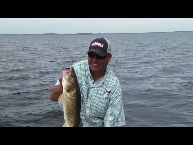 Tony Roach Fishing Report Mille Lacs Lake Late July 2016
