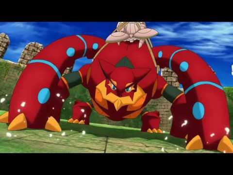 Pokémon Movie 19 Battle Scene Comparison