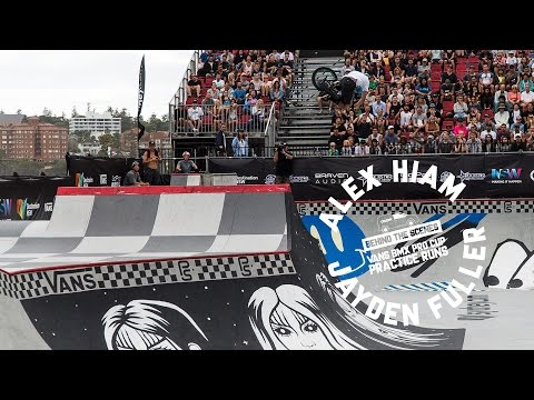 Some raw clips of Alex Hiam and Jayden Fuller during the practice days of the Vans BMX Pro Cup that was Held in Manly, Australia recently. Thanks for ...