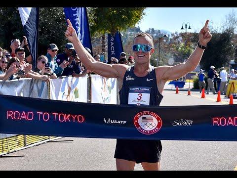 2020 Olympic Trials 50K race walk winners