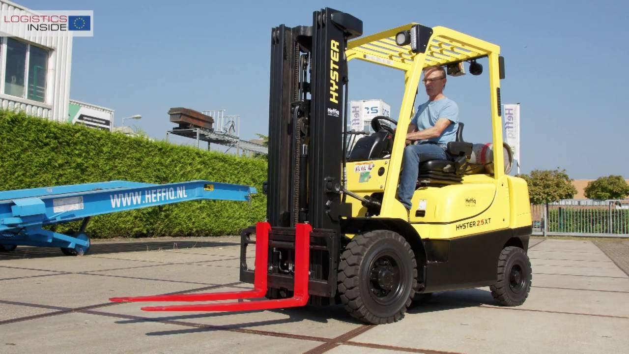 Test: Hyster H2 5 XT - Basic instinct - Logistics Inside :Logistics