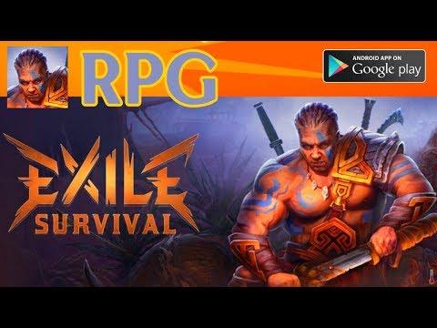 Exile Survival - РПГ МЕСТЬ Варвара [ПЕРВЫЙ ВЗГЛЯД] Android