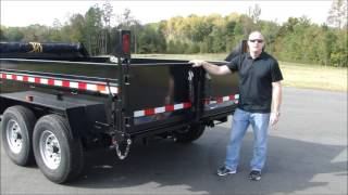 How to Operate a Dump Trailer