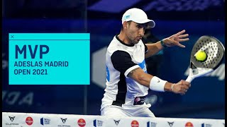 MVP Adeslas Madrid Open 2021: Sanyo Gutiérrez | World Padel Tour
