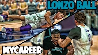 LONZO PUNCHES TONY ALLEN! FIGHT BREAKS OUT! - NBA 2K17 LONZO BALL MyCareer