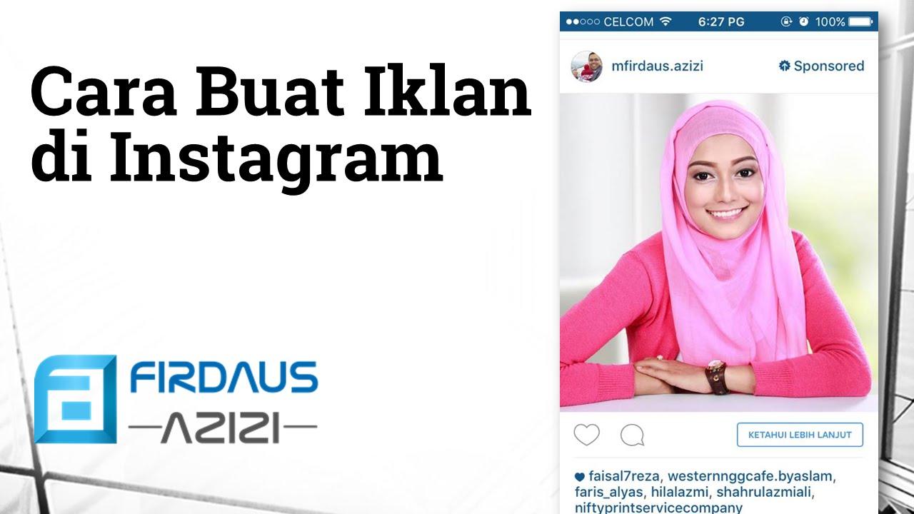 Cara Buat Iklan Berbayar Di Instagram Ig Ads Instaads Youtube