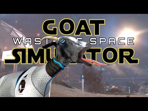 Goat Simulator: Waste of Space DLC - Portal Goat's Test Chamber! - Goat Simulator Gameplay