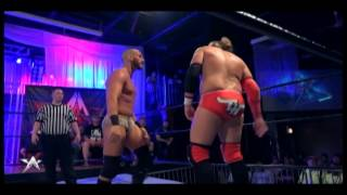 This Is AAW - Tommaso Ciampa and Chris Hero Slap  Your Face, Kick Your Face