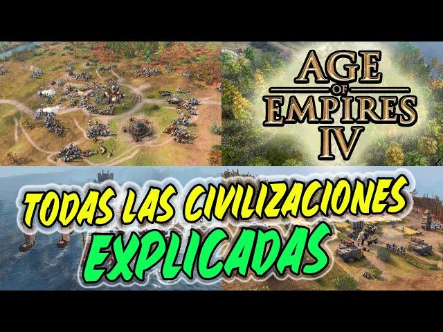 LAS NUEVAS CIVILIZACIONES DE AGE OF EMPIRES IV - EXPLICADAS