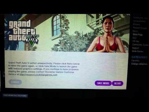 How To Play GTA V with Social Club Crash (MUST HAVE INTEGRATED GRAPHICS CARD)