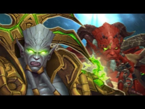 Warcraft 3 - Journey to the End