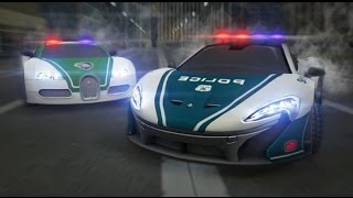 Dubai Police Supercars Rally Full Gameplay Walkthrough