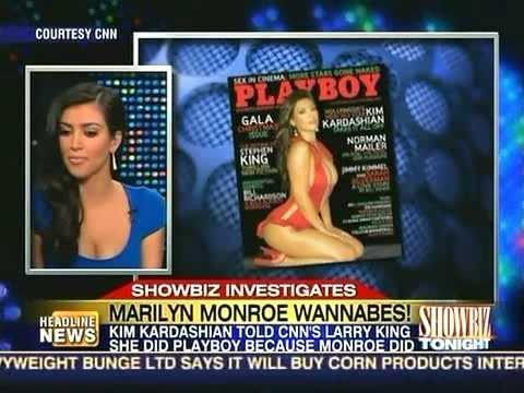 Lindsay Lohan CNN ShowbizTonight MarilynMonroe