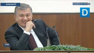 Президент Мирзиёев ва Чироқчи вакили ўртасидаги «савдолашув»