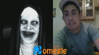 Repeat youtube video The Conjuring 2 - Valak goes on Omegle!
