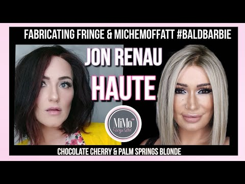 Jon Renau Haute - Palm Springs & Chocolate Cherry | Michelle Moffitt & Fabricating Fringe