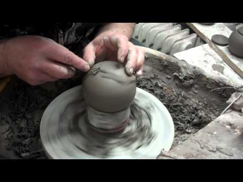 pottery incense burner construction