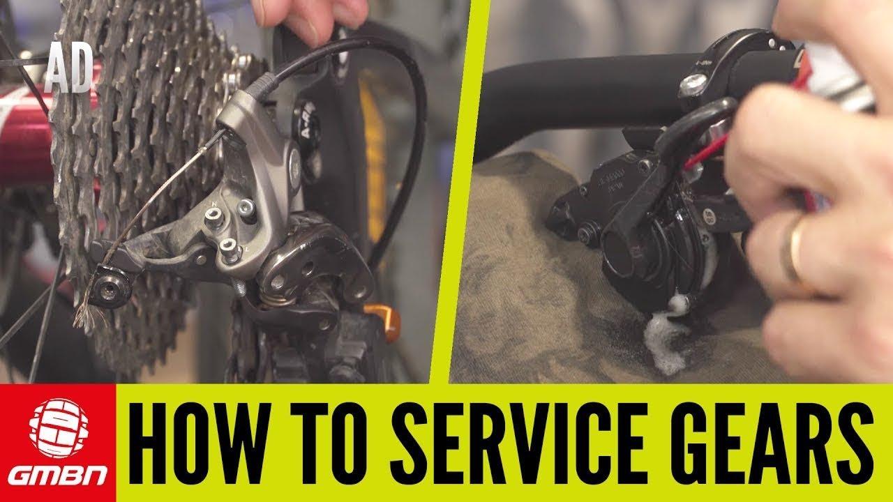 How To Service Your Shimano Mtb Gears Mountain Bike Maintenance