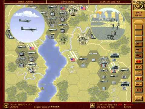 Let's Play - Panzer General - Part 062 - Washington (alternative) - Part 004 - by MrKritik77