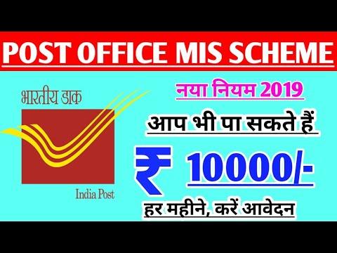 Post Office MIS Scheme ll पोस्ट ऑफिस की MIS स्कीम में कम निवेश में अधिक लाभ लें ll बड़ा मौका ll