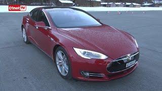 01Drive : Tesla Model S P85D, on a testé son incroyable accélération !
