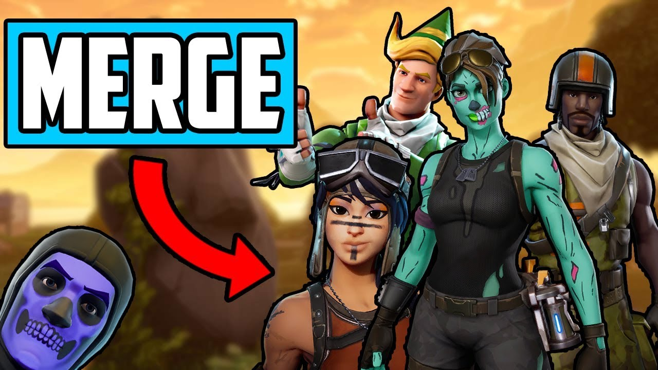 HOW TO MERGE YOUR FORTNITE ACCOUNT IN 1 MINUTE!!! (EASIEST ...