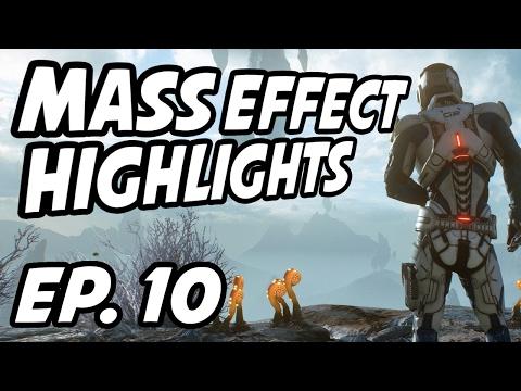 Mass Effect Andromeda Daily Highlights | Ep. 10 | CohhCarnage, PhilmannLive, EvanneElizabeth