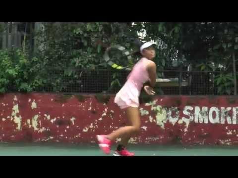 Angel Santiago's U.S. College Tennis Recruiting  Video 2015